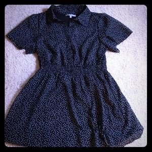 Bailey Blue Polka Dot Dress
